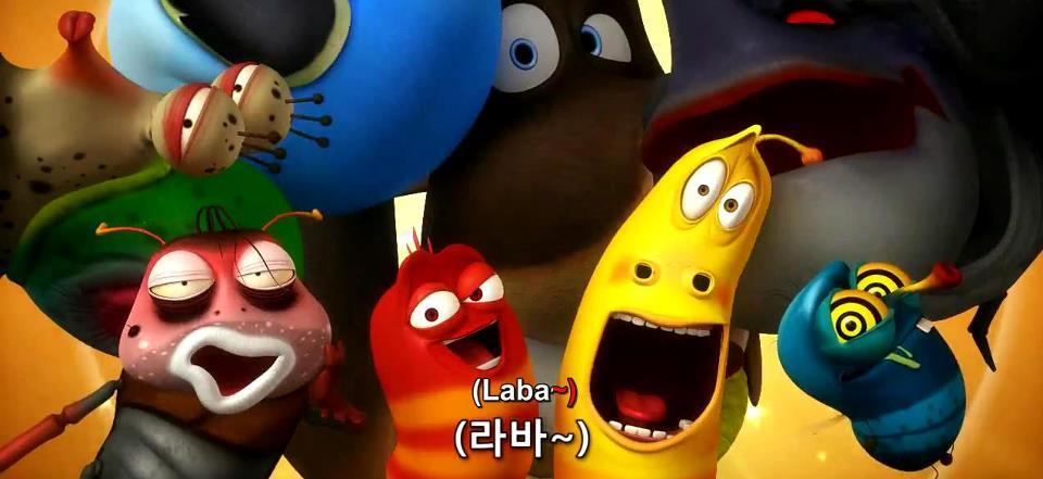 Saya sediakan link untuk download 4 video lucu dari kartun larva tsb