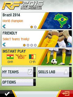 Download game Java terbaru : Real Football 2015